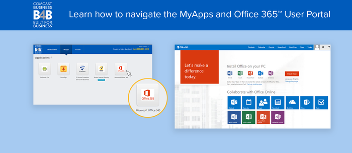 MyApps and Office 365™ User Portal Review
