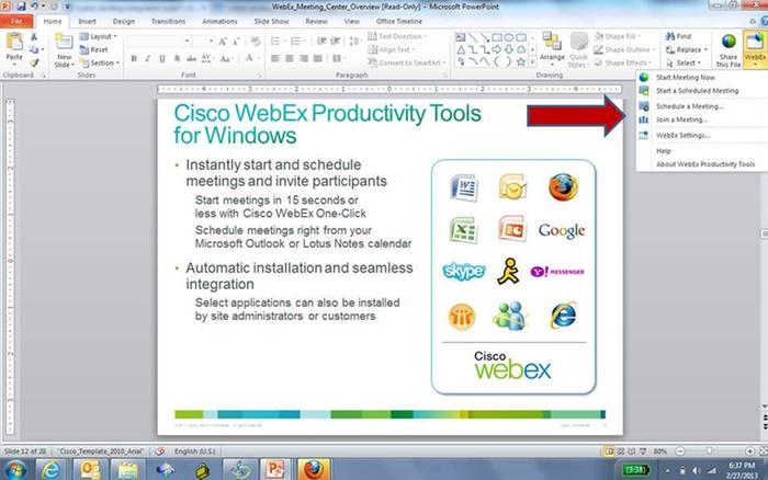 Cisco WebEx Meeting Center by Cisco   Comcast Business Cloud Solutions
