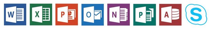 Familiar Office tools
