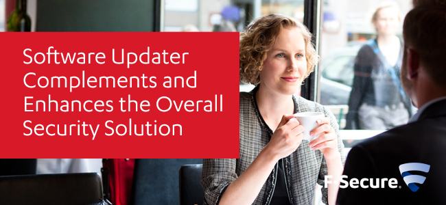 Software Updater Complements and Enhances the Solution